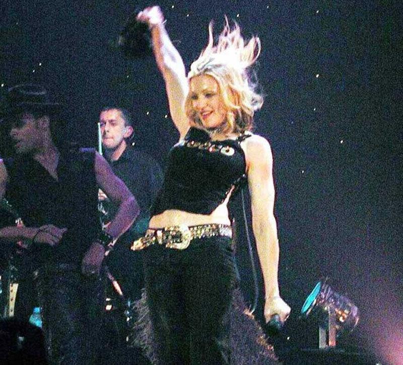 میڈونا کو سب سے پہلی بولڈ گلوکارہ کے طور پر بھی جانا جاتا ہے—فوٹو: اے اسٹاک