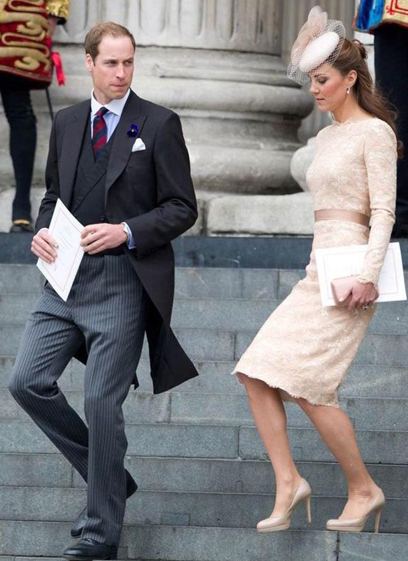 تجزیہ کار کے مطابق اگر شہزادہ ولیم عارضی بادشاہ بنے تو بھی ان کی اہلیہ کو کوئی ذمہ داری ملنے کا امکان نہیں —فائل فوٹو:  اے ایف پی