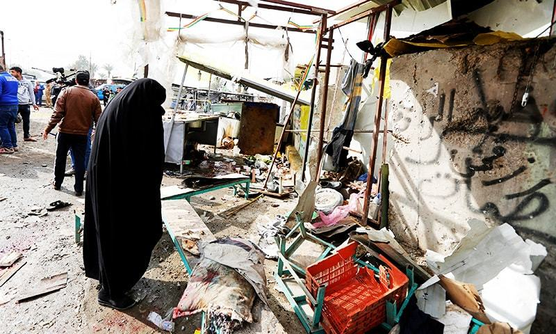 آفیشلز کے مطابق دھماکے میں ہلاک ہونے والے تمام افراد عام شہری ہیں— فائل فوٹو: رائٹرز