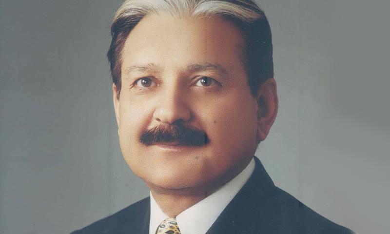 CEC Sardar Mohammad Raza. — Photo courtesy: peshawarhighcourt.gov.pk