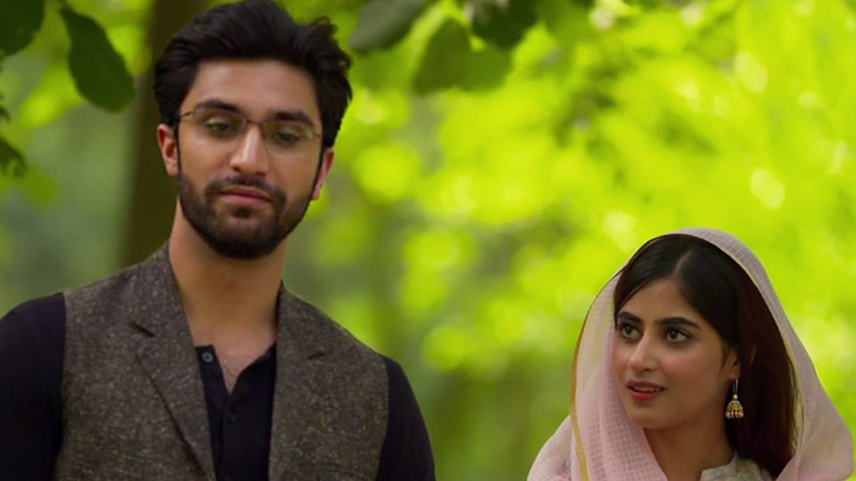 Ahad and Sajal in a still from YKS