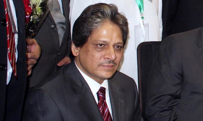 Former Sindh governor Dr Ishratul Ibad. — File photo