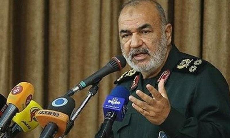 جنرل حسین سلامی نے کہا کہ ایرانی فوج کی صلاحیت آزمودہ ہے—فائل/فوٹو:پریس ٹی وی