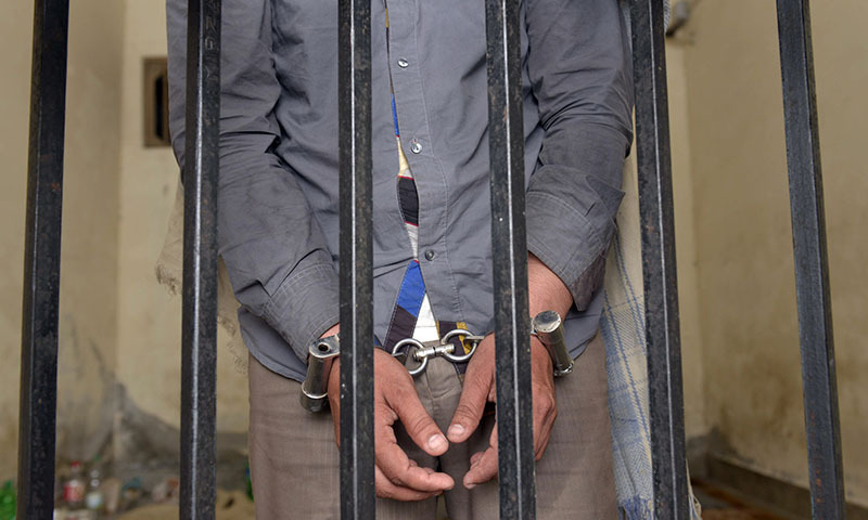 The two suspects were sent to the district jail in Mandi Bahauddin on 14-day judicial remand. — AFP/File