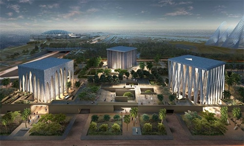 "The synagogue will be part of the multi-faith ""Abrahamic Family House"" complex in Abu Dhabi. — Photo courtesy Gulf News"