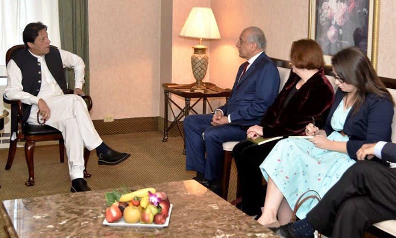 PM Imran meets US envoy Khalilzad, Senator Graham in New York