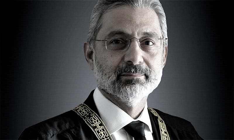 Supreme Court is seized with nine petitions moved by Justice Qazi Faez Isa. — Wikimedia Commons/File