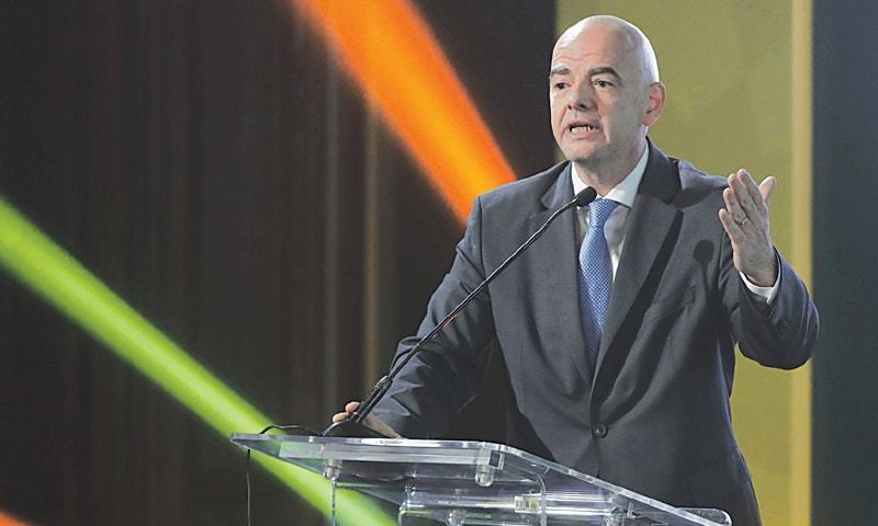 """FIFA president Gianni Infantino lambasted Italian football authorities for  """"hiding the truth"""" about racism in a scathing assessment on Tuesday following a complete lack of punishment after three cases of discriminatory chants during the four opening rounds of Serie A. — AFP/File"""