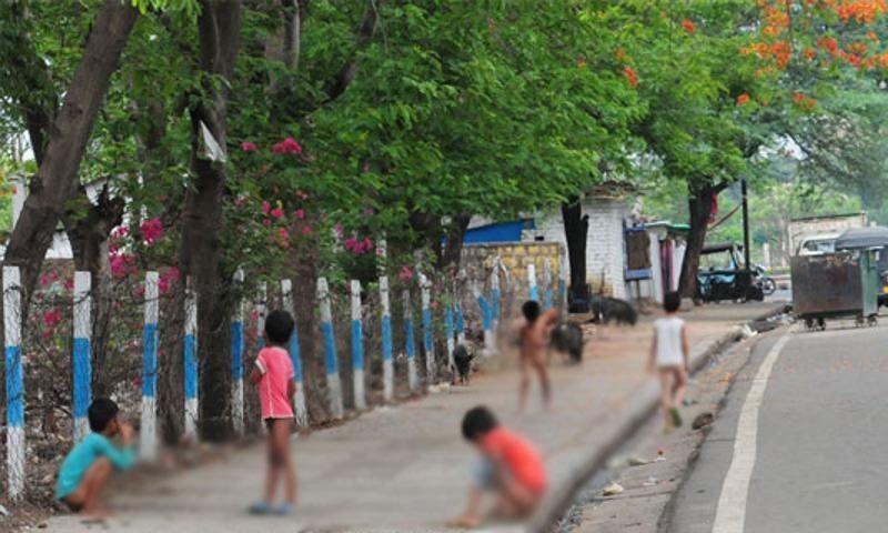 بھارت میں چند سال قبل تک شہریوں کو ٹوائلٹ کی کمی کا سامنا تھا — فوٹو: ہندوستان ٹائمز