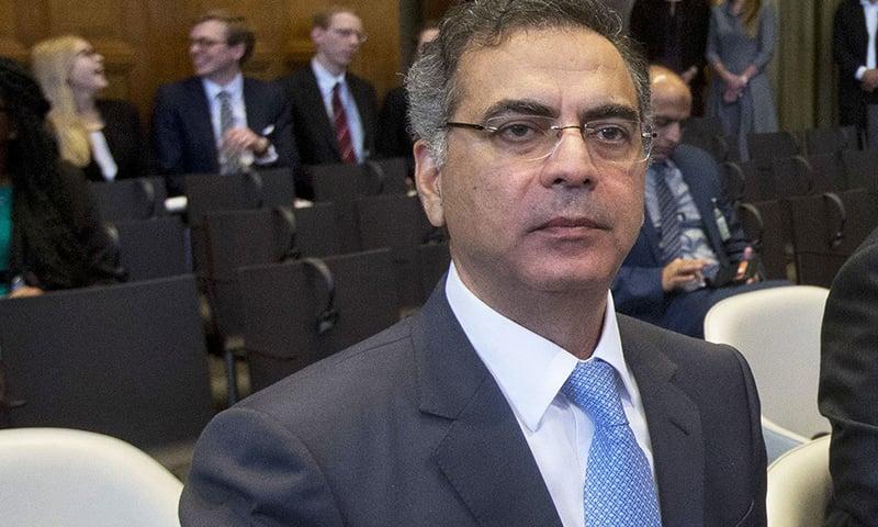 Acting Foreign Secretary Moazzam Ahmad Khan. — AP/File