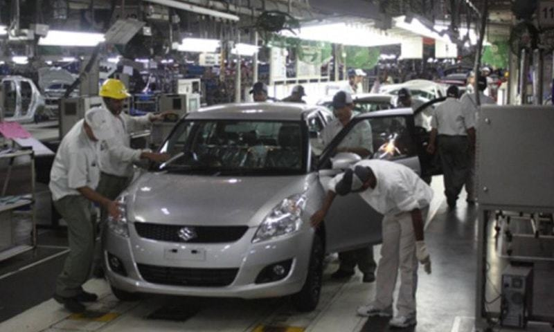 In this file photo, workers are seen working at a local auto plant. The recent developments in the auto industry are unprecedented and proving to be tough for stakeholders including auto industry workers.