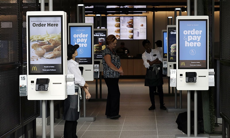 "McDonald's Corp will test a new ""plant, lettuce and tomato"" sandwich using Beyond Meat's patties in some restaurants in Canada next week, following major rivals' bets on the growing popularity of plant-based alternative meat. — AP"