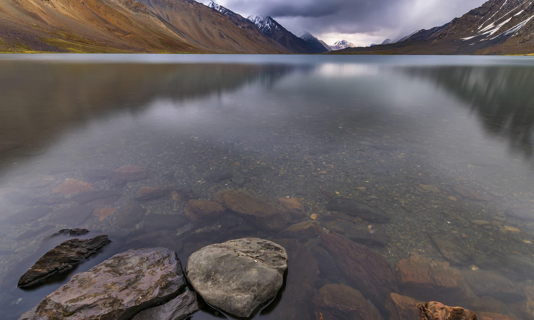 کرومبر جھیل کا دیدار ہوا—سید مہدی بخاری