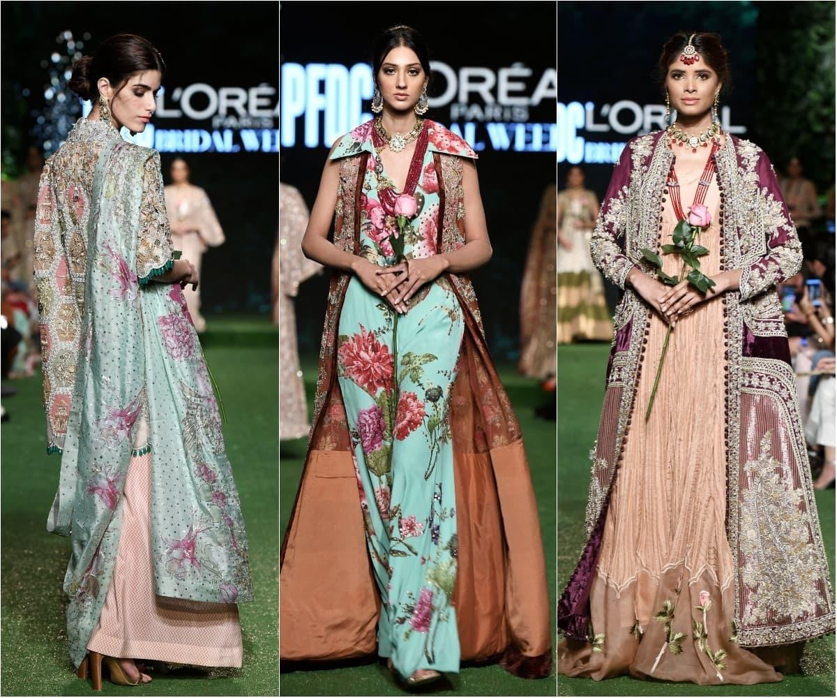 سائرہ شکیرا نے بھی ہمیشہ کی طرح منفرد انداز کی ملبوسات پیش کیں