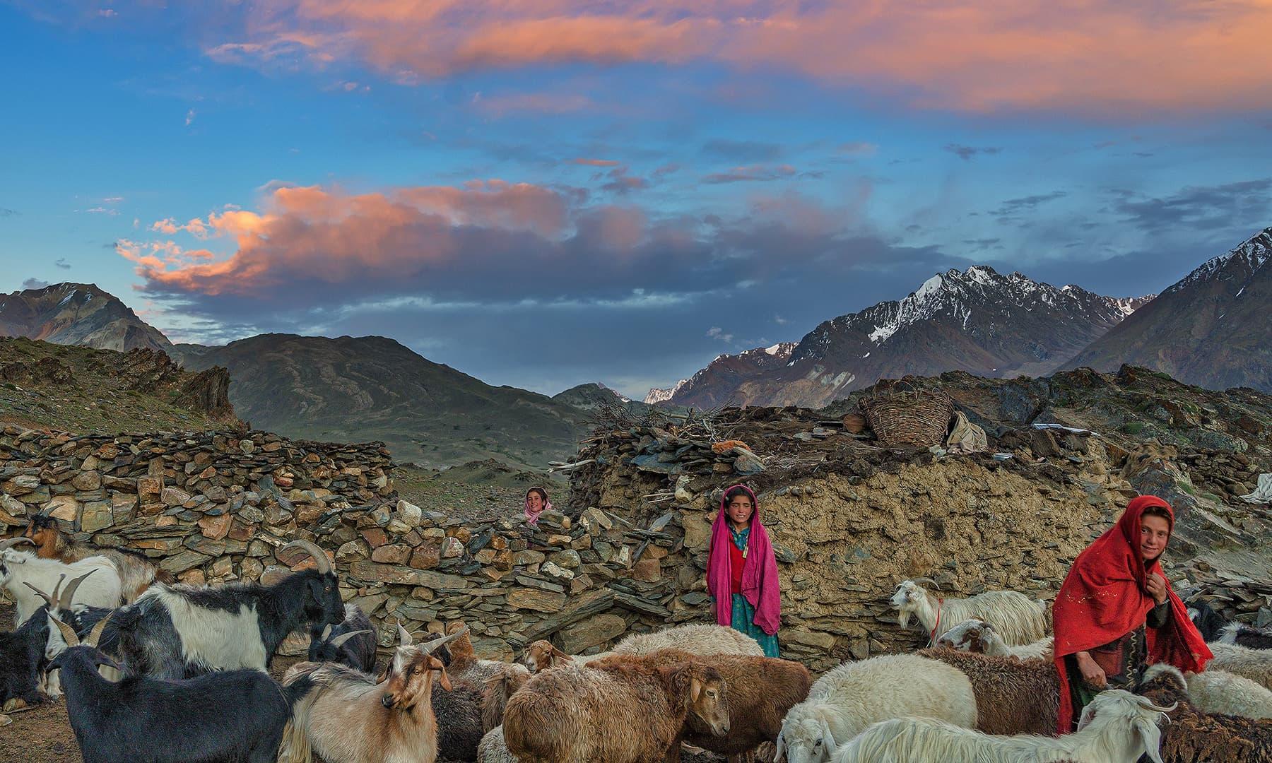 وادی بروغل کی دیہی زندگی —سید مہدی بخاری