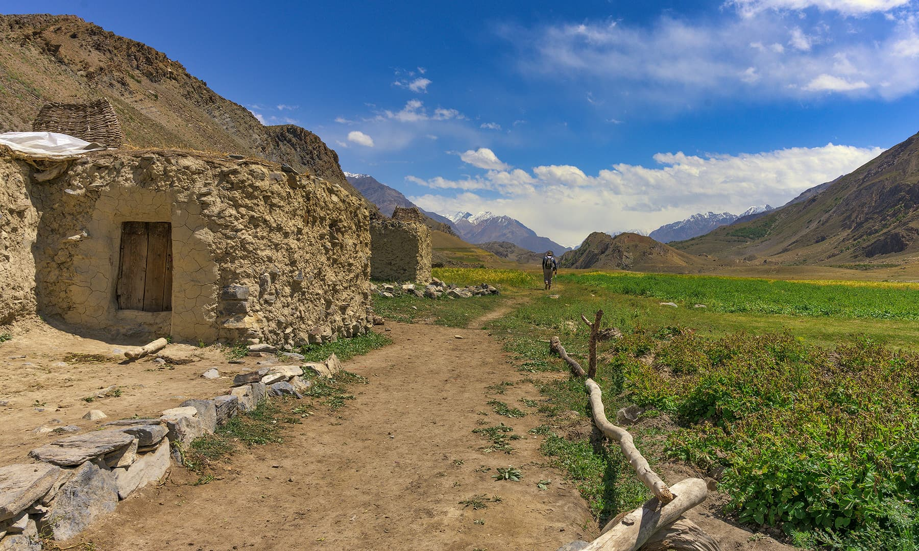 گھڑیل گاؤں سے شروع ہونے والا ٹریک—سید مہدی بخاری