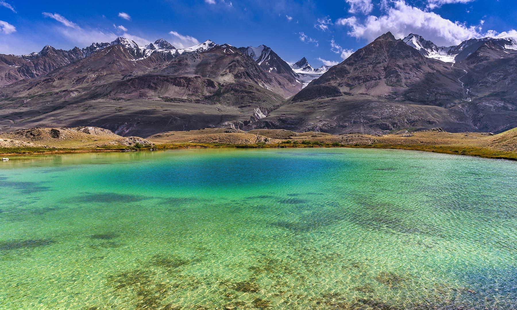 سفر کے دوران ایک جھیل سے ملاقات—سید مہدی بخاری