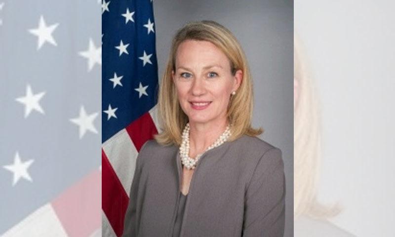 امریکی عہدیدار برائے جنوبی ایشیا ایلس ویلز نے کہا کہ امریکا کو بڑے پیمانے پر گرفتاریوں کے حوالے سے تشویش ہے —فائل فوٹو: وکی میڈیا