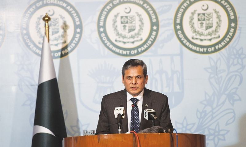 Nafees hopeful jobs could be for medical and IT professionals & says Pakistani commodities can become useful in Britain.— AFP/File
