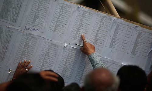 The ECP will also launch an awareness campaign for the voters next month in all the districts. — Reuters/File