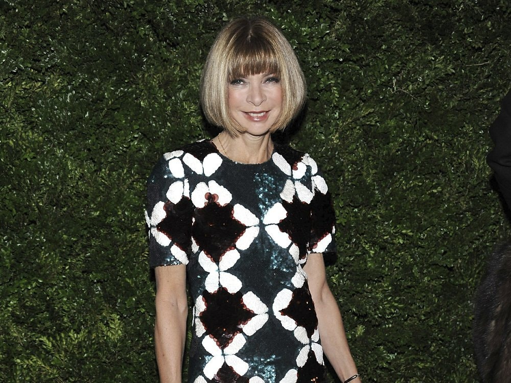 """I think it's super important to understand your own vision,"" says Wintour.—AP"