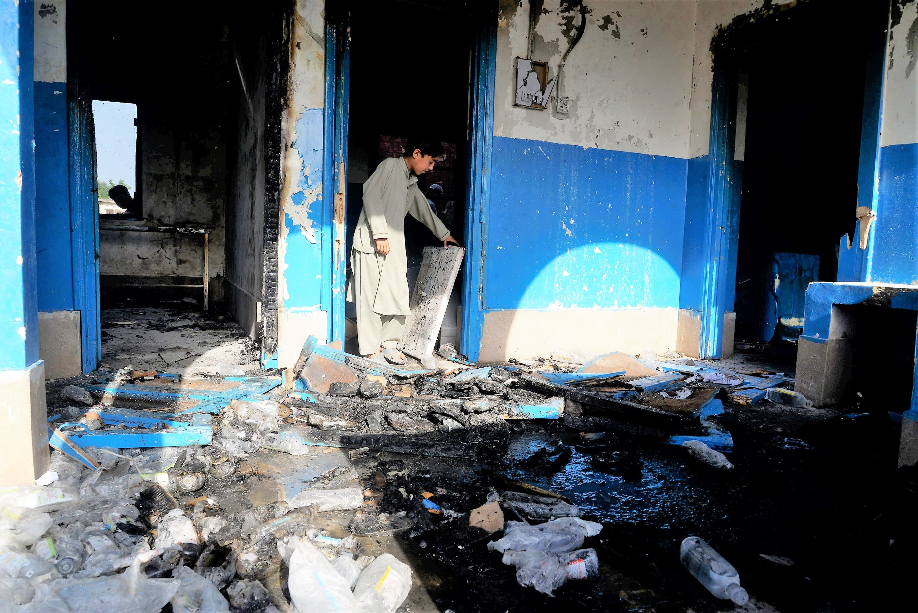 People are suspicious of polio vaccines around the country. A small hospital in Mashokhel, Peshawar was burnt in April in response to rumours about polio vaccines. | White Star