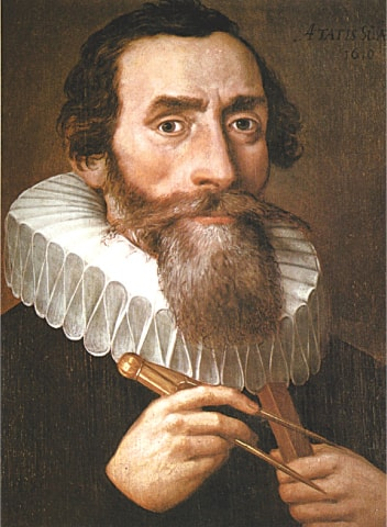 Johannes Kepler, a 17th century astronomer who discovered the laws of planetary motion, is one of the fascinating personalities Maria Popova writes about in her book | Wikipedia Commons