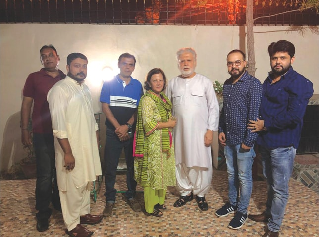 Gifts from God: Arshad, Zain, Amir, Waqar and Haider with Tabassum and Mohsin Siddiqui| Courtesy the Siddiquis