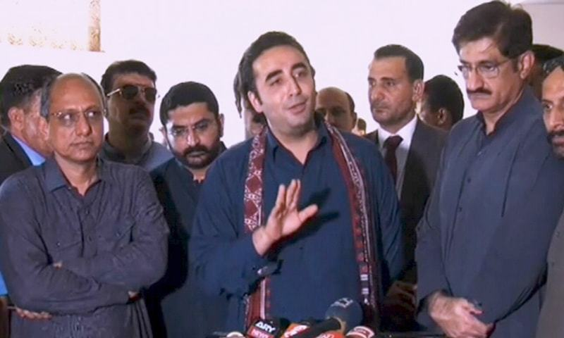 "PPP chief Bilawal Bhutto-Zardari says ""selected media and commentators can laud"" PM's speech but Pakistanis are ""disappointed"". — DawnNewsTV"