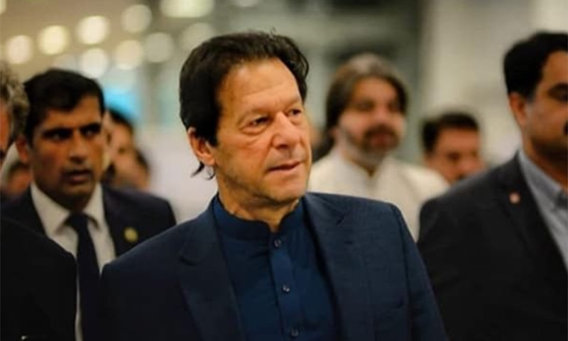 Prime Minister Imran Khan upon his return to Pakistan from a busy US visit, where he attended UNGA's 74th annual session. — Photo courtesy PM Imran's Instagram
