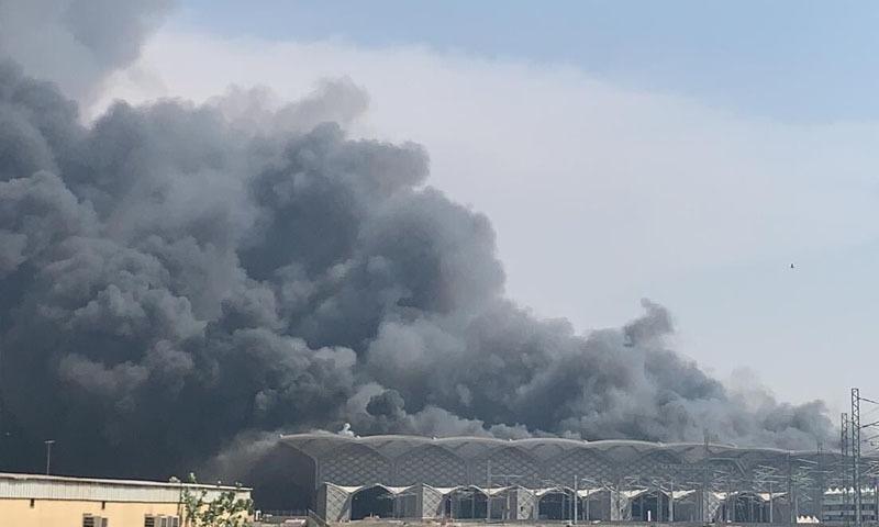 حرمین ایکسپریس کا افتتاح گزشتہ برس کیا گیا تھا — فوٹو: بشکریہ ٹوئٹر