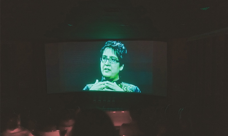 SABEEN Mahmud in a scene of the film.—White Star