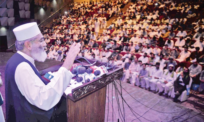 Siraj calls for 'decisive war' against India
