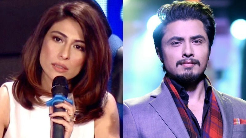 Meesha Shafi (L) had last year accused Ali Zafar of sexually harassing her. — Dawn.com/File