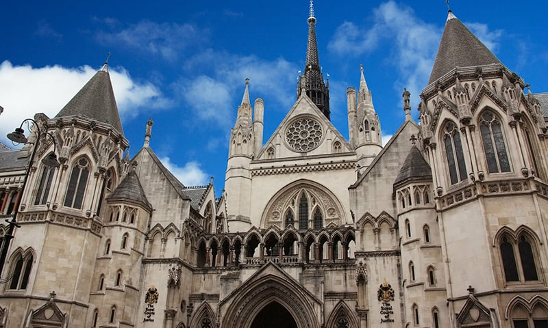 HE UK High Court on Wednesday ruled on a drawn-out battle for funds amounting to £35 million by issuing a judgement in favour of the Nizam of Hyderabad and against Pakistan, who had claimed the funds that have been lying untouched in a London bank account for 70 years. — Photo courtesy www.judiciary.uk