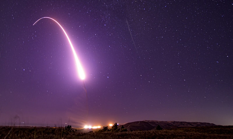 US successfully tests ICBM