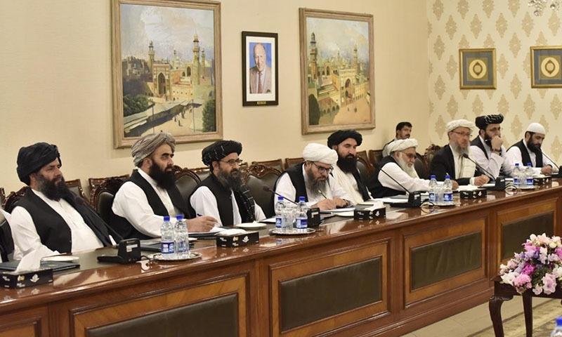 طالبان رہنماؤں کی امریکی نمائندہ خصوصی سے بھی ملاقات متوقع ہے—تصویر: نوید صدیقی