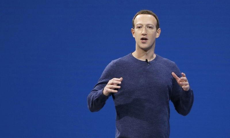 مارک زکربرگ چوتھے امیر ترین امریکی ہیں—فوٹو: اے پی