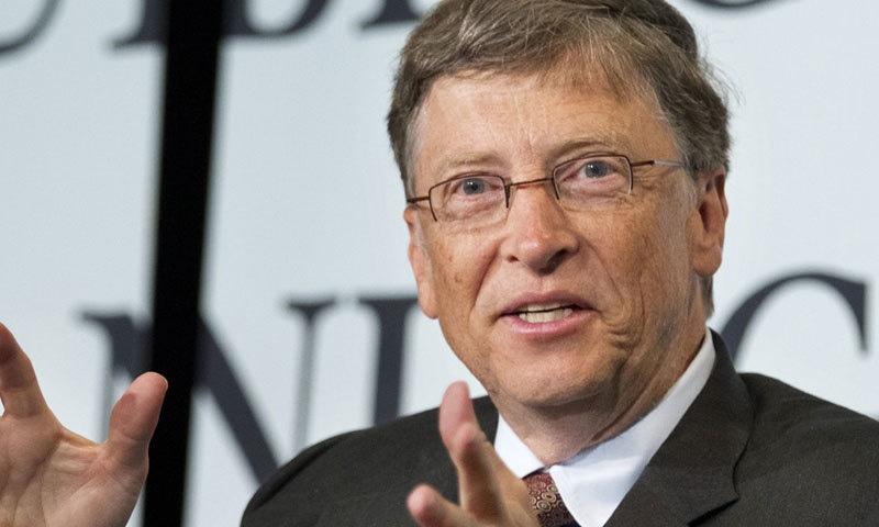 بل گیٹس اب امیر ترین شخص بن گئے—فوٹو: اے پی