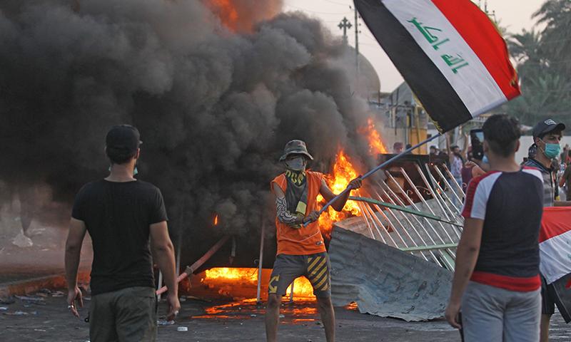 شام سے امریکی انخلا کے بعد اسرائیل کو احتیاط کی ضرورت نہیں رہی۔فوٹو: اے ایف پی