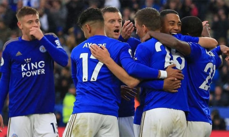 Foxes' chances have been aided by early-season struggles of Tottenham Hotspur, Arsenal, Chelsea and Manchester United. — Photo courtesy BBC/AFP