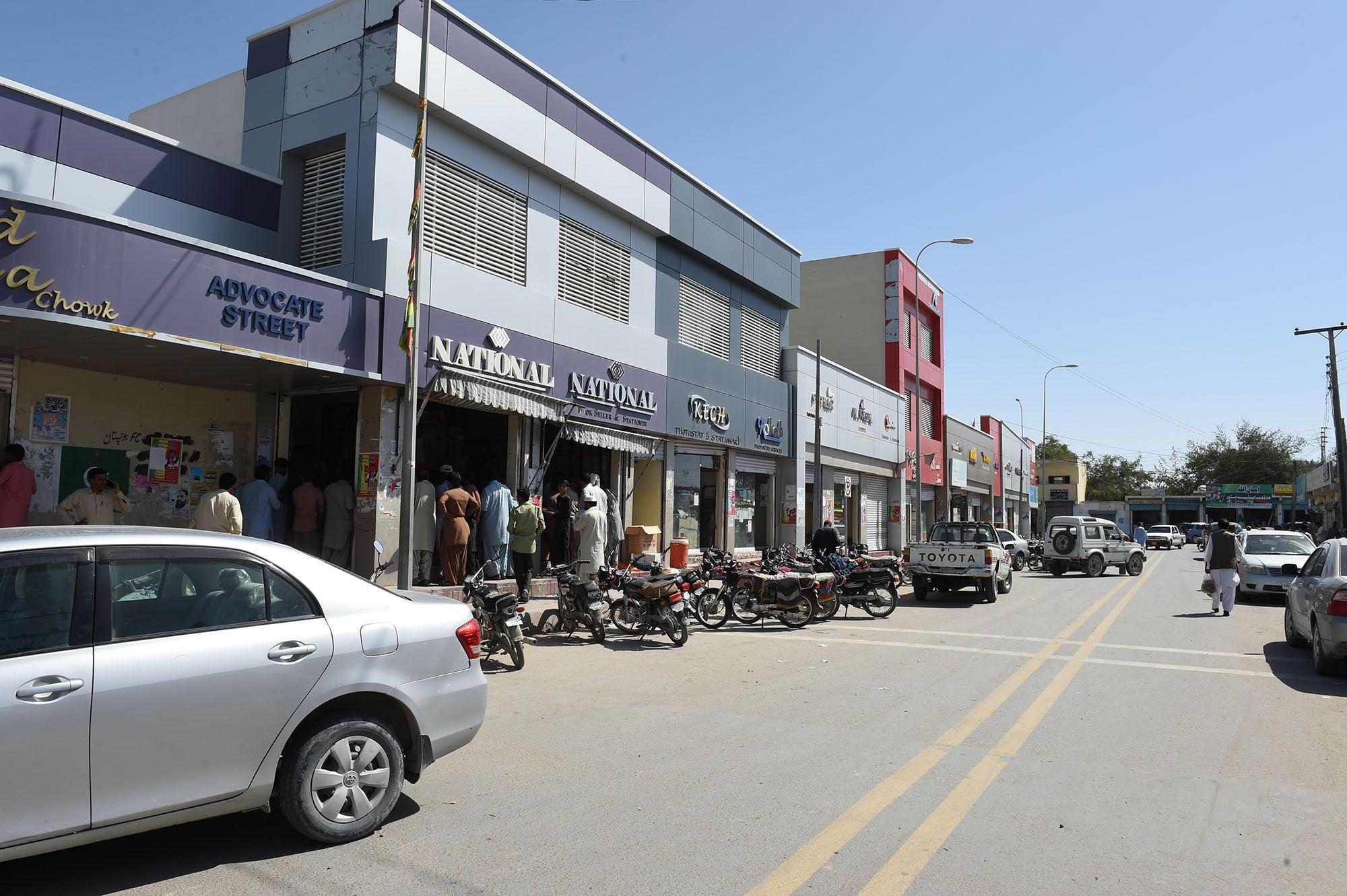 A busy market in Turbat | Banaras Khan