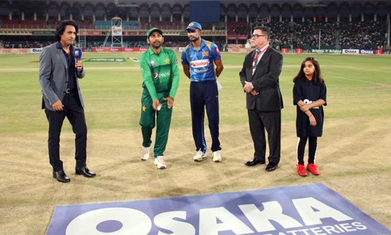 Pakistan skipper Sarfaraz called heads and won the toss. — PCB