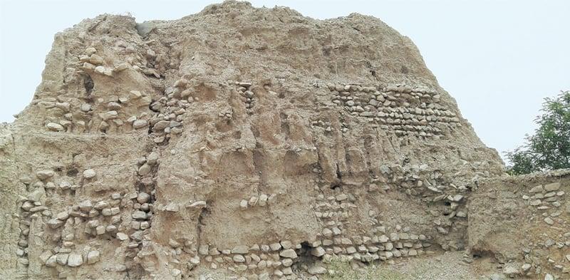 Khan Kalat Kachehri of the Khuzdar City Fort