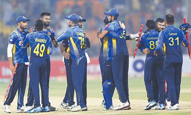 Inexperienced Sri Lanka stun Pakistan in first T20 at Lahore