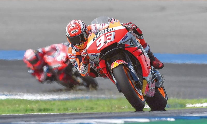 Marquez seals his sixth MotoGP title in Thailand