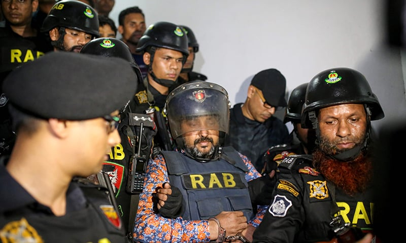 Leader of Bangladesh ruling party held in crackdown on graft