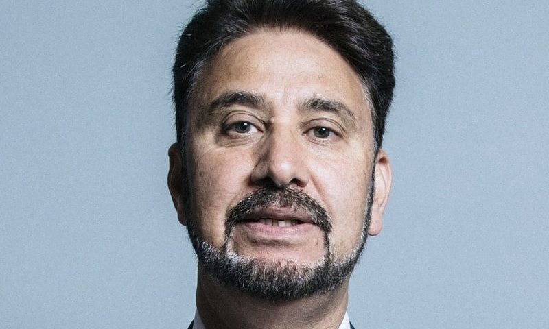 Labour Party member Mohammad Afzal Khan dismisses Tory govt's claim that Kashmir issue is bilateral. — Photo courtesy AfzalKhan.org.uk