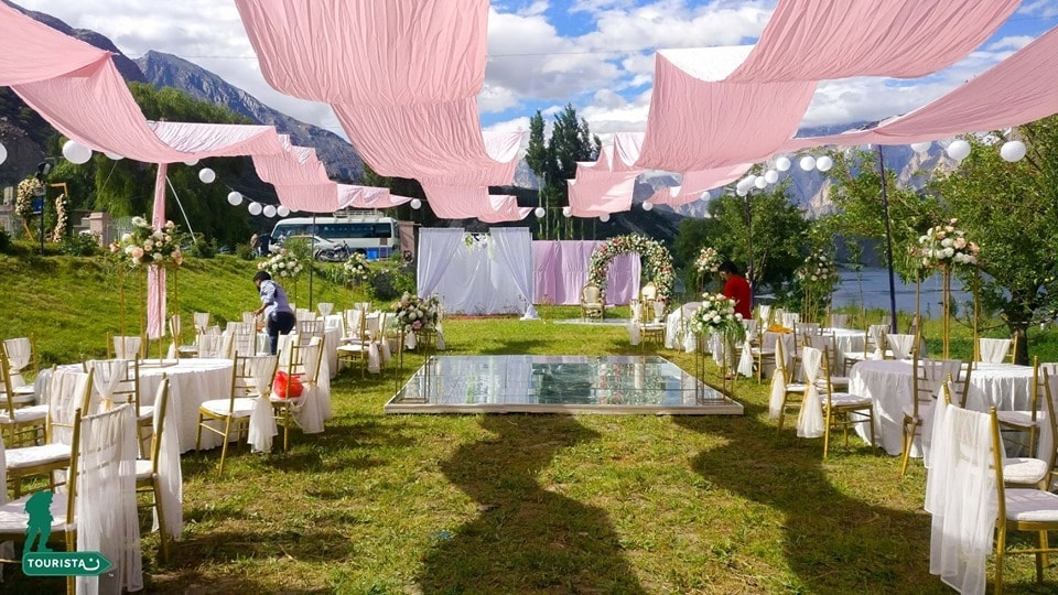 A & W's Hunza wedding.