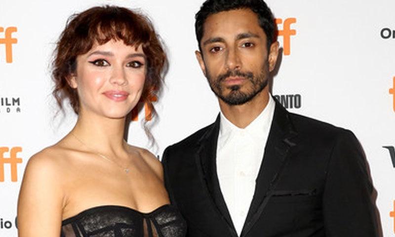 رز احمد کے ساتھ اولویا کک نے فلم میں اہم کردار ادا کیا—فوٹو: اے ایف پی